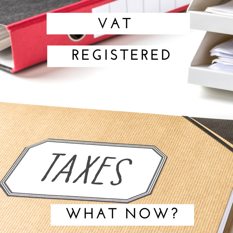 vat registered what now